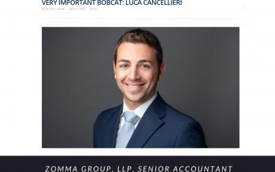 Luca Cancellier Feature on the St. Thomas University Newsletter
