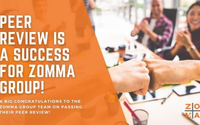 Peer Review is a success for Zomma Group!