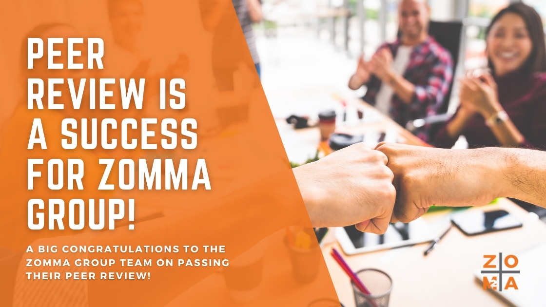Peer Review is a success for Zomma Group
