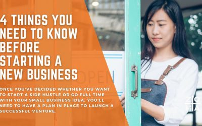 4 Things You Need to Know Before Starting a New Business